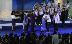 Tuyển bóng chuyền nữ Thái Lan vẫn được tôn vinh