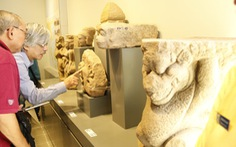 Đường dài cho bảo tàng Champa ở Huế