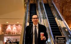 Ông Trump chọn ông Steven Mnuchin làm Bộ trưởng tài chính?