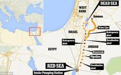 Jordan đào kênh nối Biển Đỏ với Biển Chết
