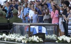 Hành trình cuối cùng của Lãnh tụ Fidel Castro