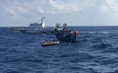 Thêm một tàu cá Bình Định mất liên lạc ở vùng biển Hoàng Sa