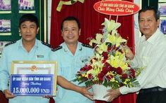 Thưởng nóng vụ bắt thiếu tá Campuchia vận chuyển 18kg vàng
