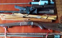 Thu 150 vũ khí, vật liệu nổsau vụ xả súng 3 người chết ở Đắk Nông