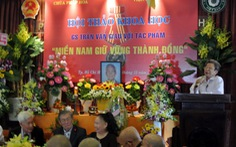 Tôn vinh GS Trần Văn Giàu qua Miền nam giữ vững thành đồng