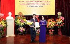 Bổ nhiệm giám đốc Bệnh viện Việt Đức sau 18 tháng bị trống
