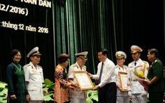 Trao Huân chương Quân công cho 6 tướng lĩnh, sĩ quan cao cấp