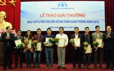 Báo Tuổi Trẻ đoạt 4 giải thưởng báo chí tuyên truyền ATGT