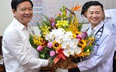 Bác sĩ Trần Hoàng Minh: 'May mắn được sếp tạo điều kiện'