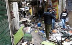 Xe bom nổ rung chuyển Baghdad 'đón' Tổng thống Pháp