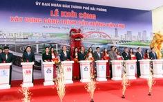 Hải Phòng khởi công cầu gần 3.000 tỉ bắc qua sông Cấm