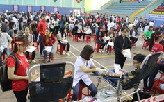 Hơn 500 sinh viên Huế tham gia Ngày hội Xuân hồng