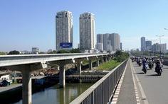 Đã lắp hơn 10km cầu cạn cho tuyến metro số 1 TP.HCM