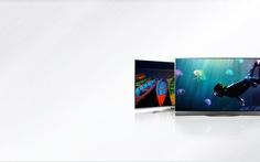 CES 2017: Tivi cao cấp mỏng hơn smartphone