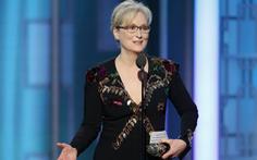 """Meryl Streep """"đá xoáy"""" Trumpkhi nhận giải Quả Cầu Vàng"""