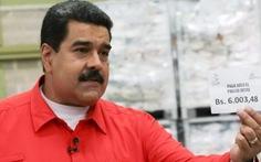 Venezuela tăng lương 50%, lạm phát dự kiến phi mã 1.600%
