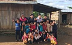 Bạn trẻ xây nhà nội trú cho học sinh vùng cao