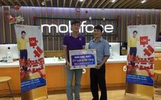 MobiFone trao giải thưởng lớn cho khách hàng