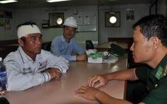 Tàu dầu khí cứu ngư dân bị tai nạn lao động trên biển