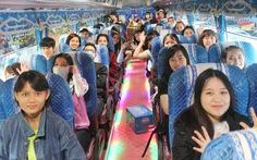 Gần 2.800 sinh viên nhận lì xì về quê đón tết