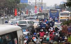 Cửa ngõ phía nam Hà Nội ùn tắc nhiều giờ