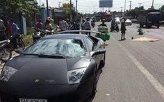 Leo dải phân cách, một người bị siêu xe Lamborghini tông chết