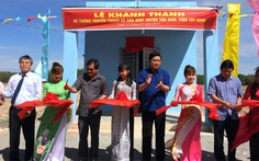Lãnh đạo TP.HCM khánh thành hệ thống truyền thanh ở Tây Ninh