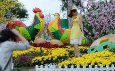 Tái hiện đồng quê Nam bộ ở Hội hoa xuân Phú Mỹ Hưng