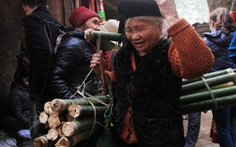 Cách Hà Nội 30km còn nguyên vẹn phiên chợ tết xưa