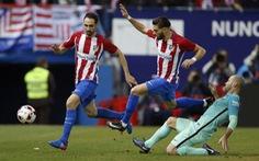 Quá khó cho Atletico Madrid