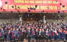 ĐH Hàng hải Việt Nam rút ngắn thời gian đào tạo nửa năm