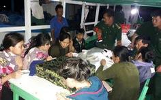 Ca nô chở 14 người bị chìm là 'tàu không số'