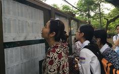 Hà Nội: Tuyển sinh lớp 10 vẫn thi kết hợp xét tuyển