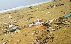 Dầu vón cục dạt vào 7km bờ biển Quảng Nam