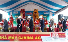 Công ty CJ Vina Agri khởi công xây dựng nhà máy tại Bình Định
