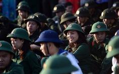 Hình ảnh 3.900 thanh niên TP.HCM lên đường nhập ngũ sáng nay