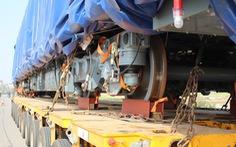 Hình ảnh đoàn tàu đầu tiên tuyến đường sắt Cát Linh - Hà Đông