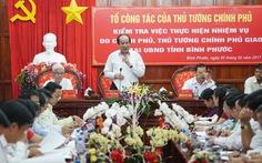 Chủ tịch Bình Phước xin lỗi Chính phủ vụ chuyển đổi rừng Bù Đốp