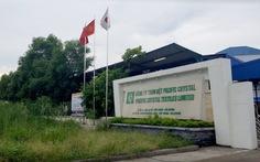 Gia hạn vấn đề môi trường cho công ty dệt Trung Quốc