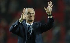 """HLV Ranieri: """"Bàn thắng của Vardy níu giữ hi vọng cho Leicester"""""""