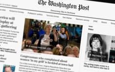 Báo Washington Post phản ứng ông Trump bằng khẩu hiệu mới