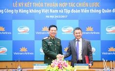 Vietnam Airlines và Viettel ký hợp tác chiến lược