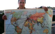 62 tuổi, đi bụi hơn 1.000 khu vực toàn thế giới