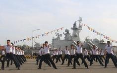 Bộ đội ra quân huấn luyện năm 2017