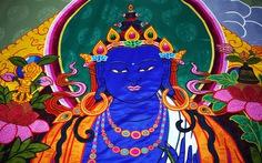 Đức Gyalwang Drukpa tặng Việt Nam tranh khổng lồ thêu Phật