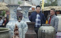 Trưng bày 180 sản phẩm gốm Bát Tràng