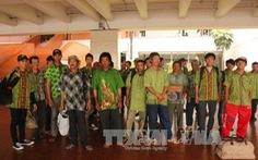 Indonesia trao trả nhiều ngư dân Việt Nam