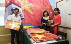 Góp 11.000 lá cờ Tổ quốc gửi tặng Trường Sa, Lý Sơn