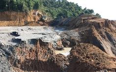 Công an điều tra vụ vỡ đập bùn thải thiếc ở Nghệ An