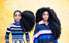 Chị em nổi tiếng nhờ tóc xù như ổ rơm